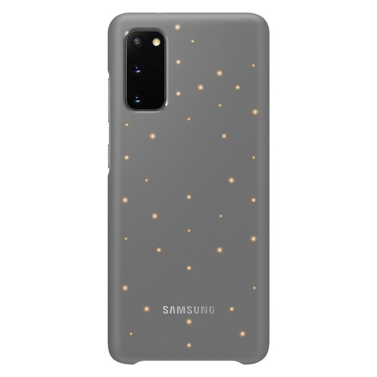 Etui Samsung Smart Led Cover Szary do Galaxy S20 (EF-KG980CJEGEU)